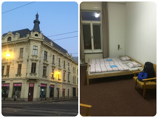 My Hotel and room at Ostrava