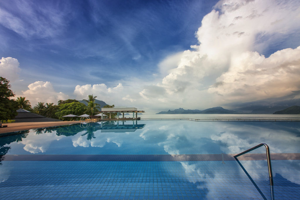 Infinity Pool at the Westin Langkawi, Travelling Boots